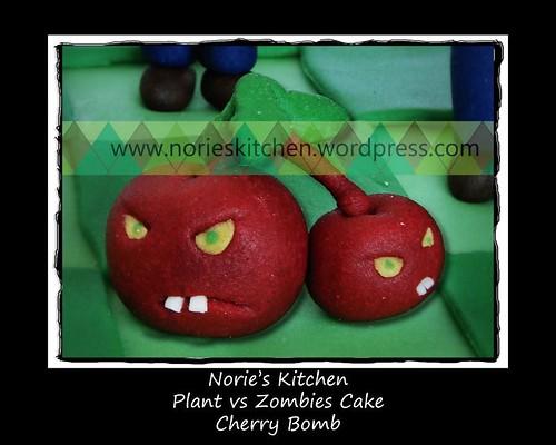 Norie's Kitchen - Plants vs Zombies - Cherry Bomb