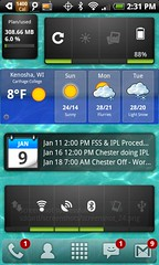 My Launcher Pro Plus Home Screen