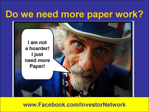 Need more paper