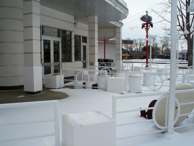 Cedar Point - Off-Season Johnny Rockets