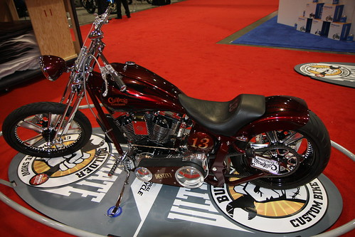 2010 San Mateo - Destiny by California Customs - Ultimate Builder Custom Bike Show
