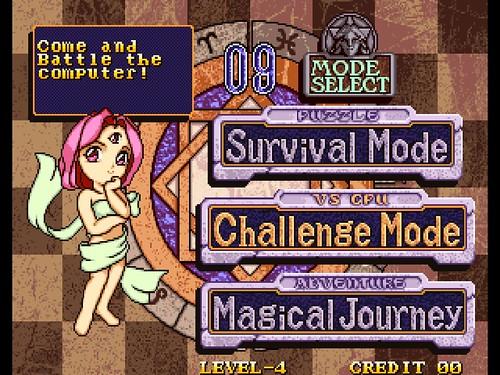 MagDrop3 - title screen