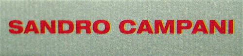 Sandro Campani, Nel paese del Magnano, Italic 2010; grafica di copertina: Giordano Giunta; dorso (part.), 2