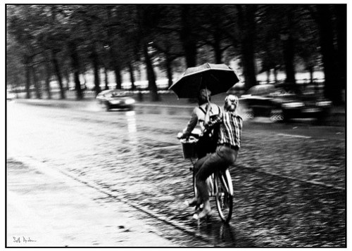 Just Biking in the Rain