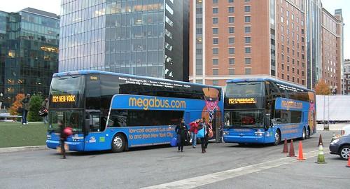 Van Hool double decker megabuses