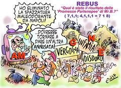SatiRebus - Risultati di SIlvio a Napoli