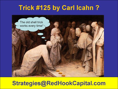 Carl Icahn tricks