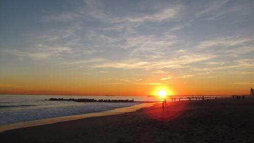 Coney Island Sunset - Nov 2010