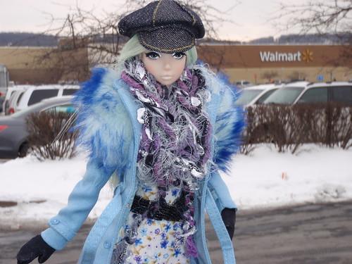 Misaki Goes Shopping