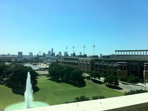 Austin LBJ Library View frm terrace