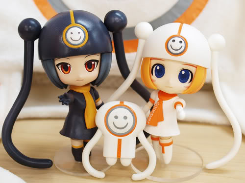 Nendoroid Dark Gumako and Gumako