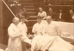 Dr. Levi Cooper Lane (1828-1902) with unidenti...