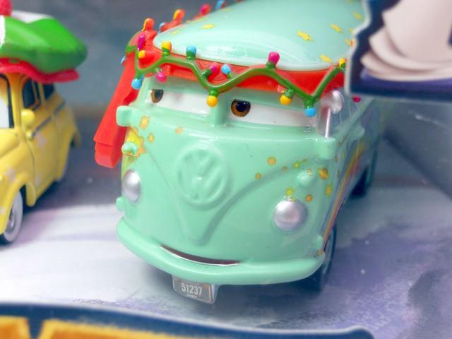Mater saves christmas story tellers, luigi,guido fillmore,hotshot lightning mcqueen ramone target set (5)