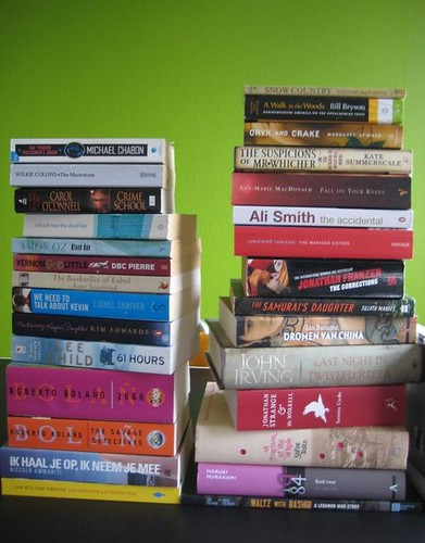 Part of my Mount To Be Read in 2011