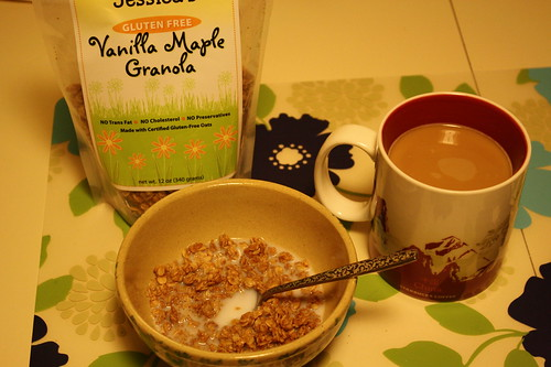 breakfast Jessica's Vanilla Maple granola