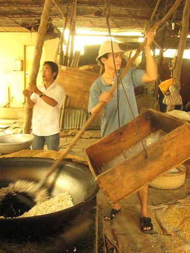 pop rice, vietnam, mekong