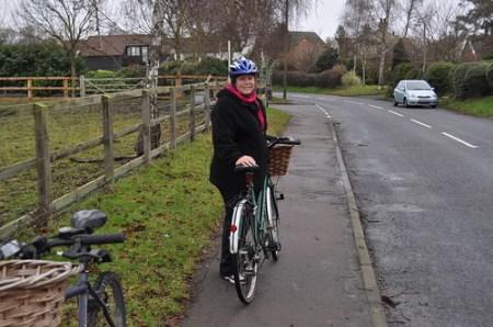 Today's bike ride