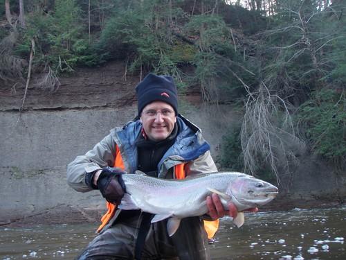 Fly Fishing in Ohio for Steelhead