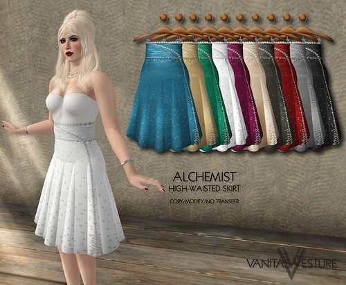 Vanitas Vesture - Wonderland Series - Alchemist Skirt