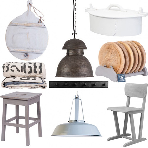 Vintage Industrial Decorating Tips + HKLiving