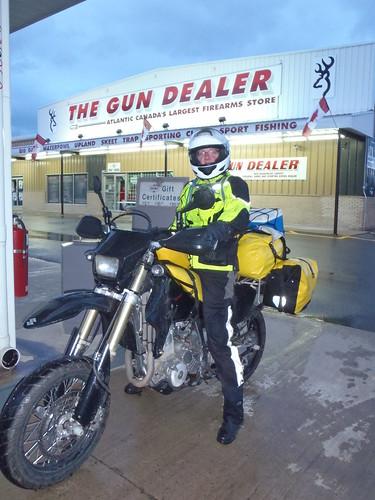 The Gun Dealer, McAdam, New Brunswick