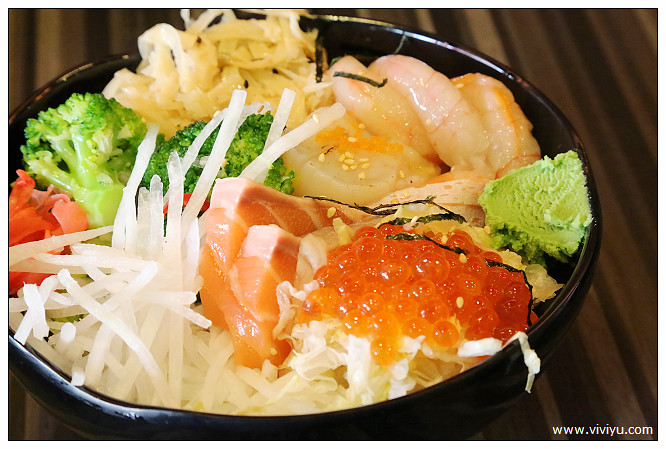 日式料理,桃園,生魚片,美食 @VIVIYU小世界