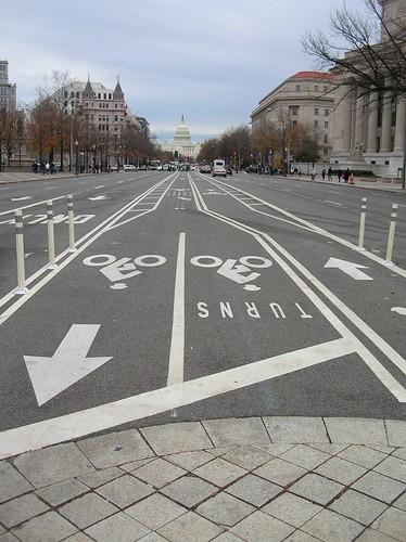 Centre bike lanes