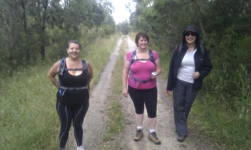 Oxfam Trailwalker Melbourne 2011 - GAL Girls