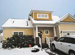 Our snowy house