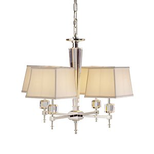 lighting, currey and company, 4 light chandelier