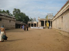 Brahma (Vanni tree), Thayar shrine and Perumal shrine