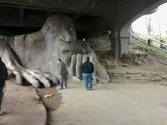 Troll under the bridge!