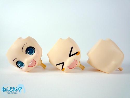 Nendoroid Kagamine Rin's face plates