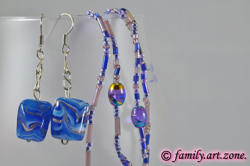 unique handmade beads earrings