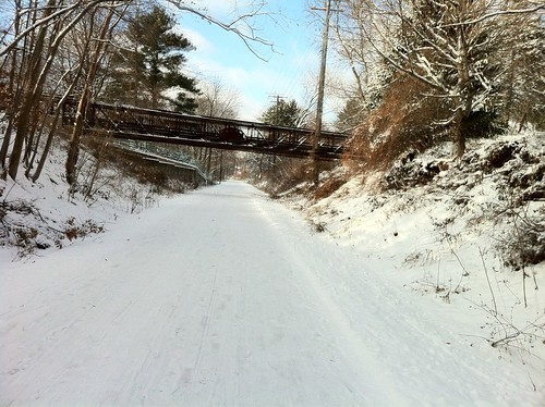 THIS is why I love riding this time of year. :) #bikewinter