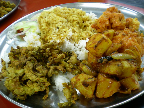 Indian lunch - nasi kandar 3