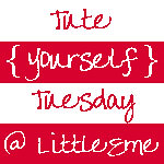 Tute yourself tuesday red and white
