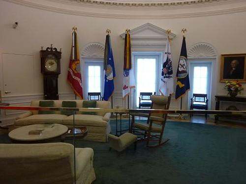 Austin LBJ Library Oval Office
