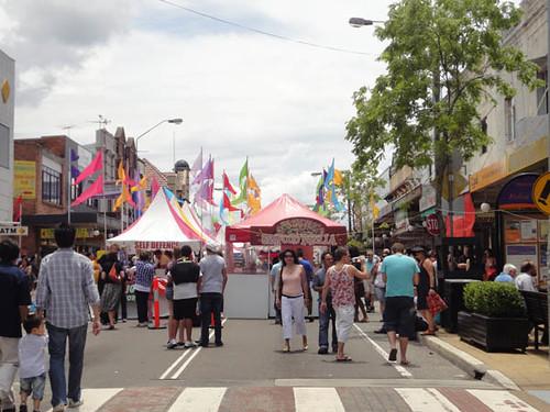 Dulwich Hill Street Fair: The fair