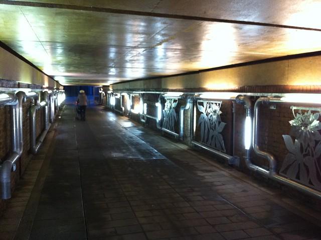 New Cross station underpass