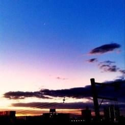 ( ^ω^)( -ω-)( _ _)おはよ! 大阪、晴れそうだね!