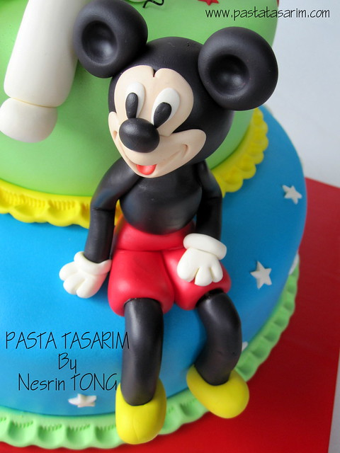 ATABERK 2ND BIRTHDAY CAKE - mickey