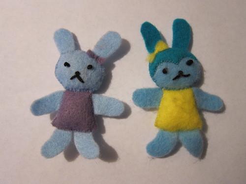 Blue Bunnies