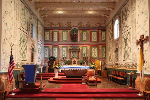 santa ines altar