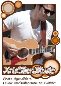 Kris Allen Music banner