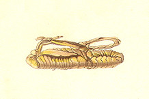 Ancient Chamorro Sandals