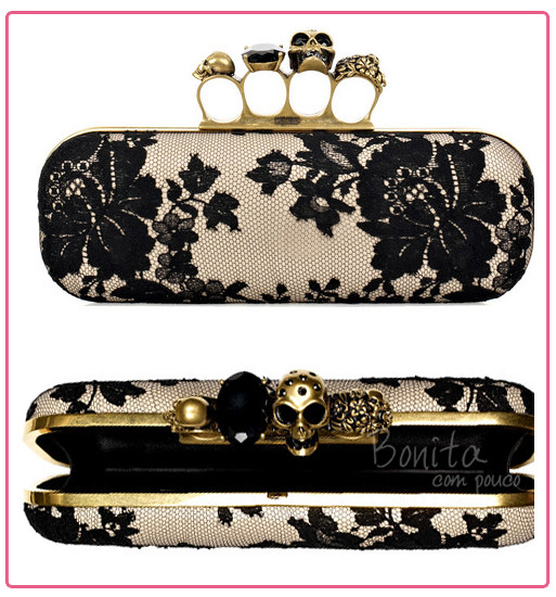 Alexander McQueen – Knuckle-Duster Clutch