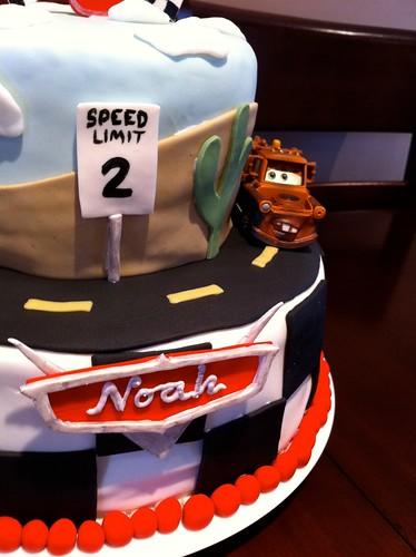 Cars Cake (2/5)