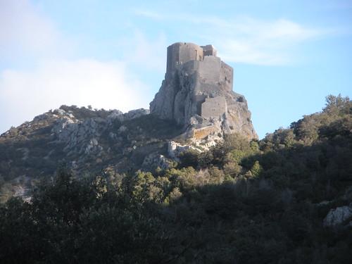 Queribus castle