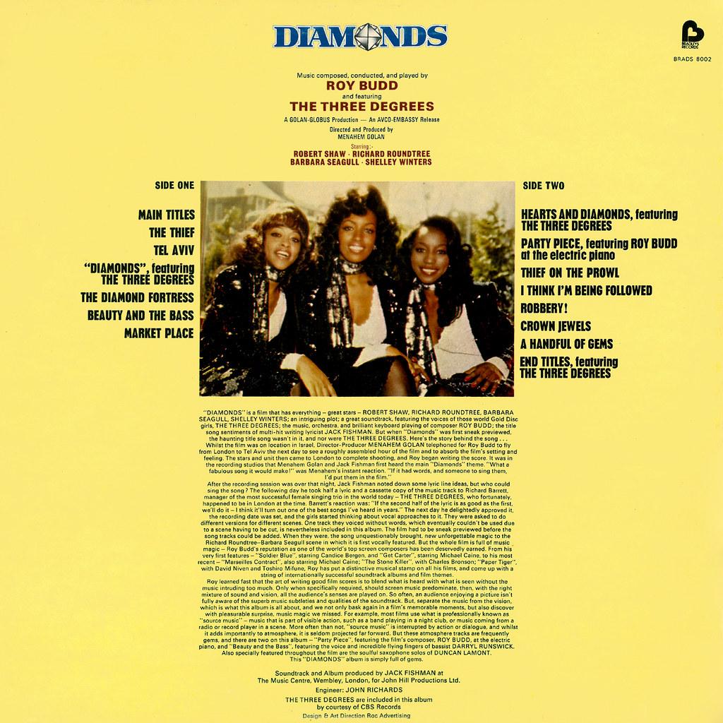 Roy Budd - Diamonds